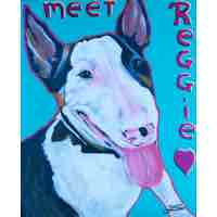 Art by Zeta Print Meet Reggie